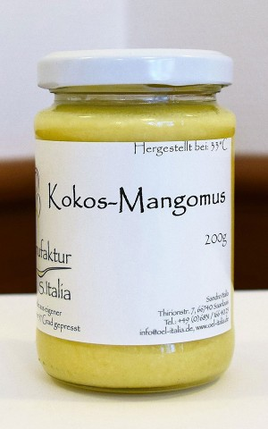 Kokos-Mangomus - Rohkostqualität