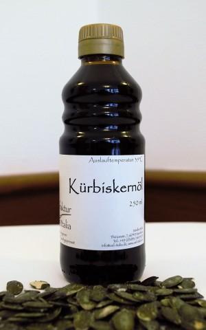 Kürbiskernöl - kaltgepresst