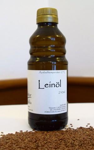 Leinöl - kaltgepresst bei 27°C