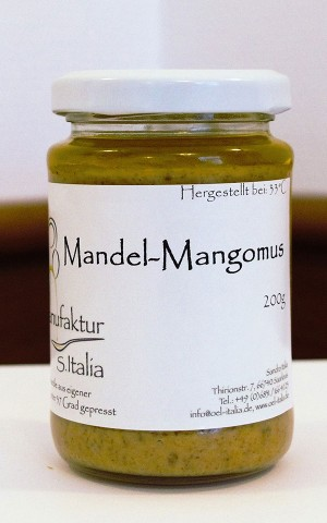 Mandel-Mangomus - Rohkostqualität