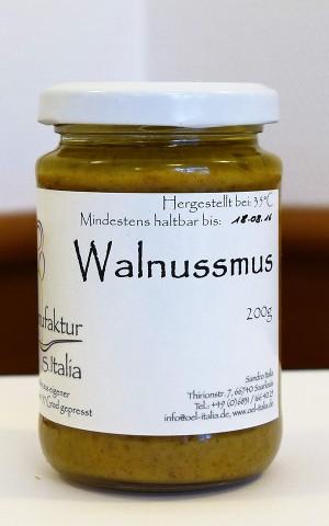 Walnussmus - Rohkostqualität